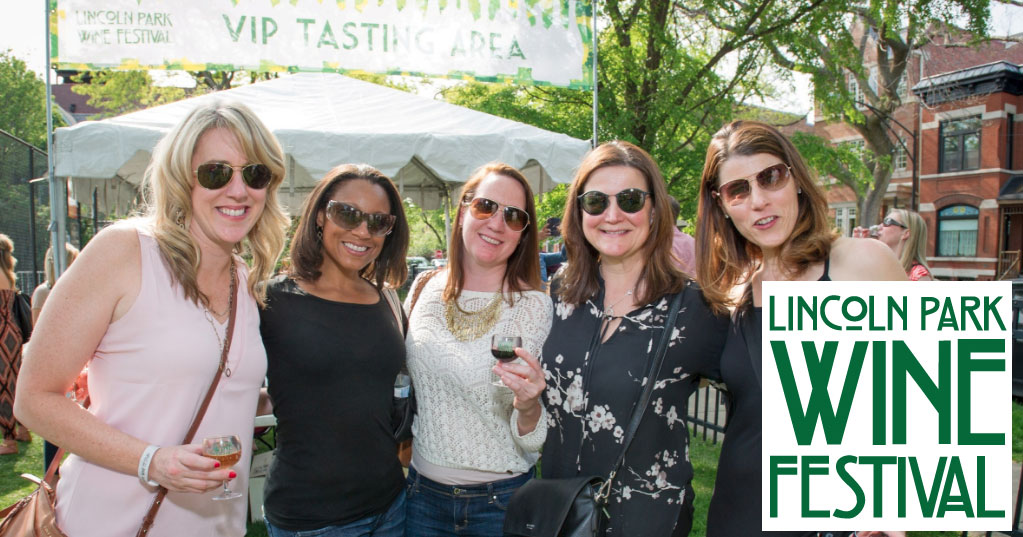 Lincoln Park Wine Wine Festival attendees
