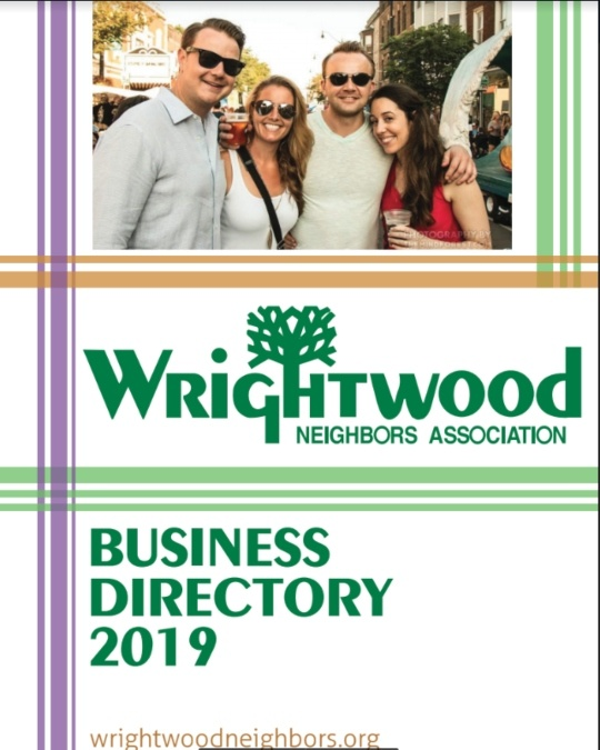 Wrightwood business directory 2019.