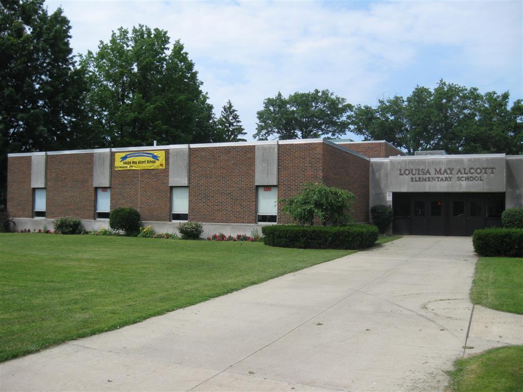 Louisa May Alcott Elementary School.